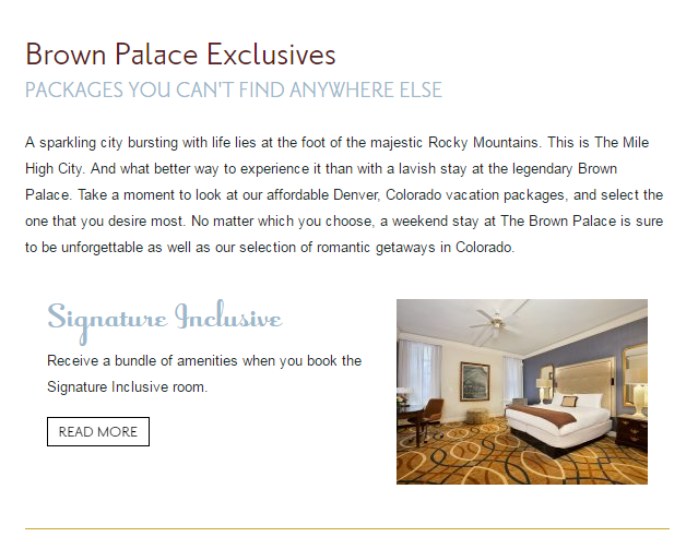 1 - Luxury Article Brown Palace