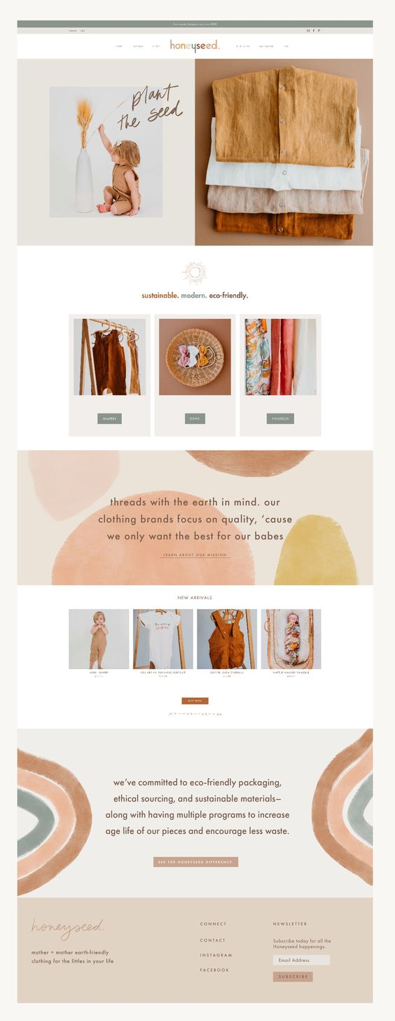 Honeyseed Website